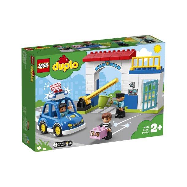 Sidste nye LEGO Duplo Politistation 10902 - LEGO Duplo - Klovnen Tulle's legetøj CN-38