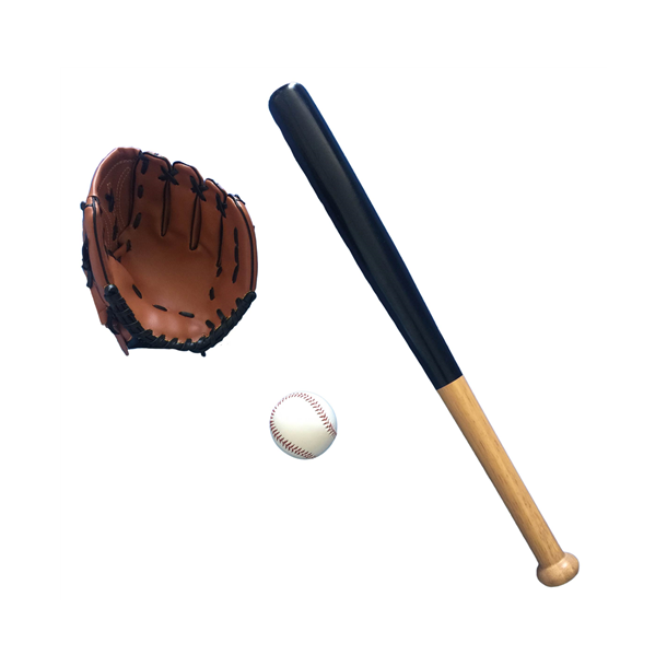 Baseball sæt 3 dele.