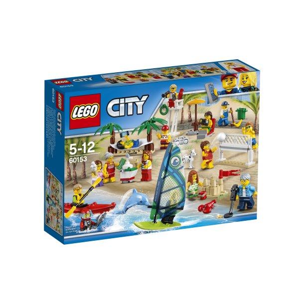 60153 LEGO City Figursæt sjov ved stranden