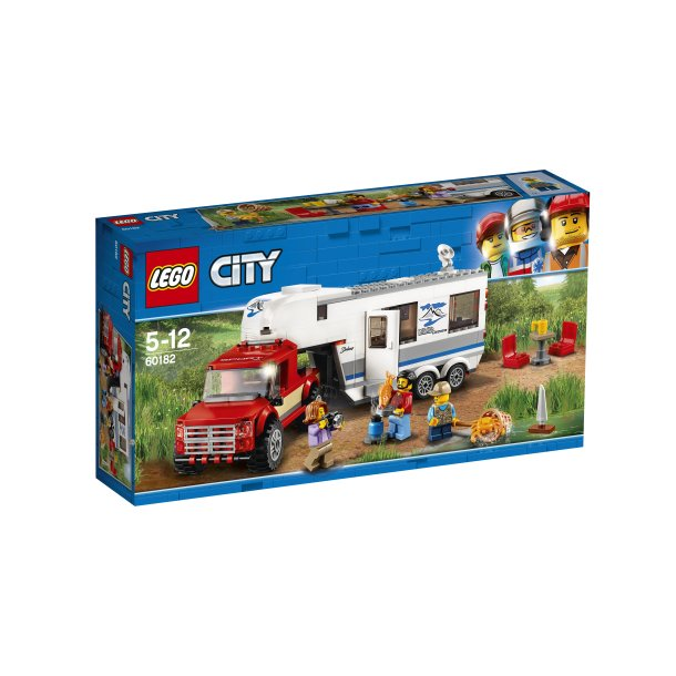 60182 LEGO City Pickup og Campingvogn