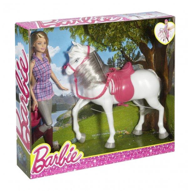 Barbie med hest