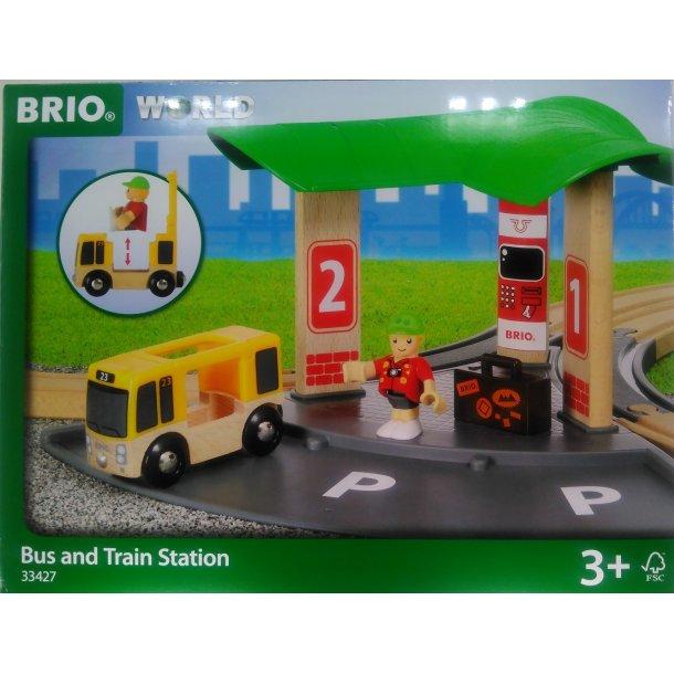 Brio Bus og tog station 33427