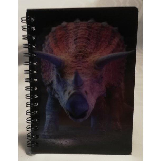 3D notesbog dinosarus