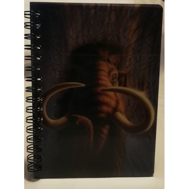 3D notesbog mamut