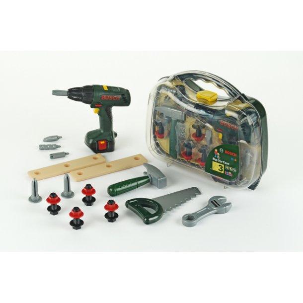 Bosch værktøjskuffert m/skruemaskine