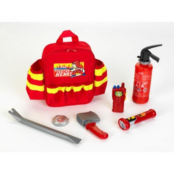 Brandmands rygsæk 28 cm +3år