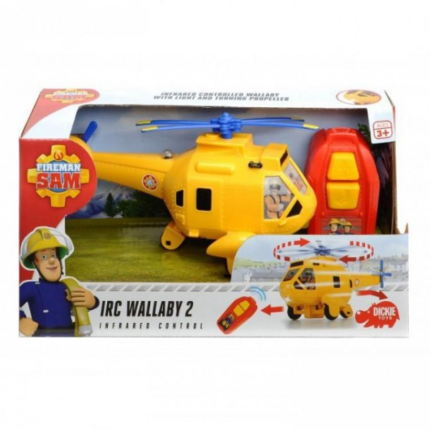 Brandmand Sam fjernstyret helikopter, IRC Wallaby 2