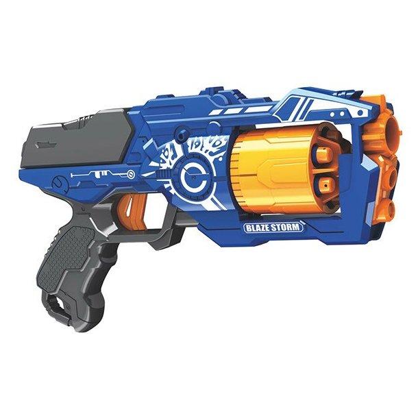 Blaze Storm MANUAL SOFT BULLET GUN INCL. 20 DARTS