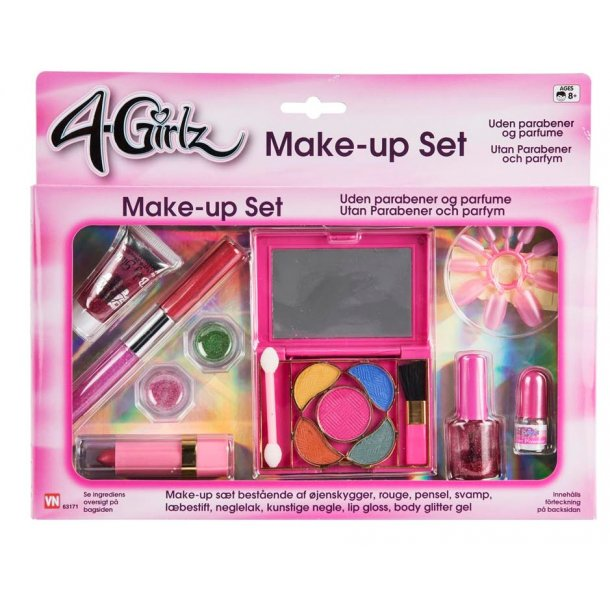 4-girlz make-up sæt