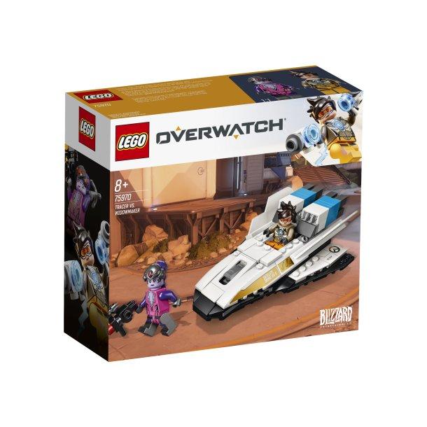 Nye LEGO Overwatch Tracer vs. Widowmaker 75970 - LEGO Overwatch ZX-99