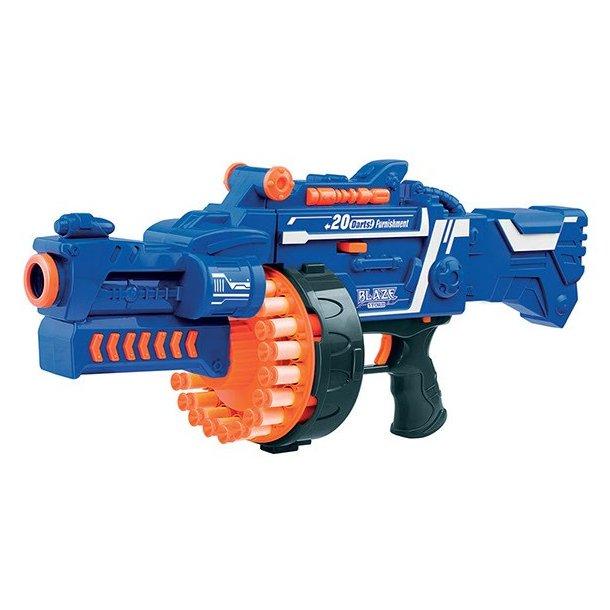 Blaze Storm SOFT BULLET MACHINE GUN B/O INCL. 40 DARTS