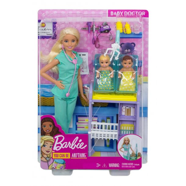 Barbie som Børnelæge