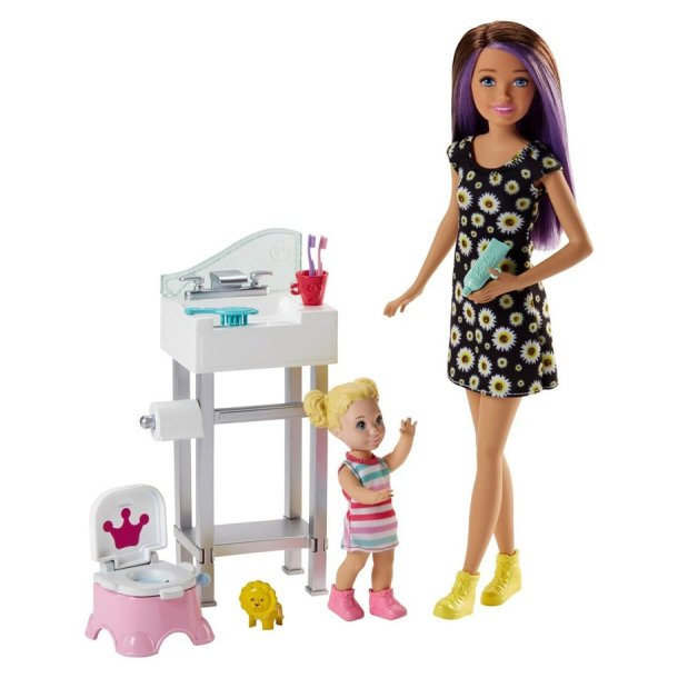 Barbie som babysitter Skipper
