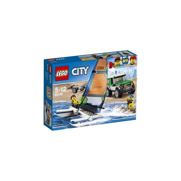 60149 LEGO Firhjulstrækker med katamaran