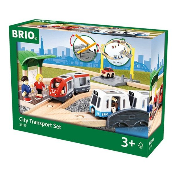 Brio City Transport sæt 33139